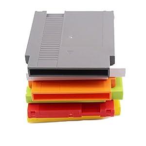 Childhood Hartschalen Kassetten Schalen Wiedereinbau für NES Unterhaltung System Grau