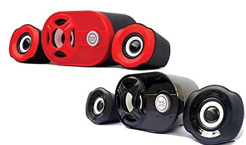 Quantum QHM 6200 USB 2.1 Mini Speaker Assorted Color (Black or red)