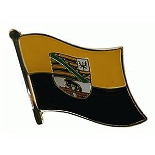U24 Flaggenpin Sachsen-Anhalt Flagge Fahne Pin Anstecker