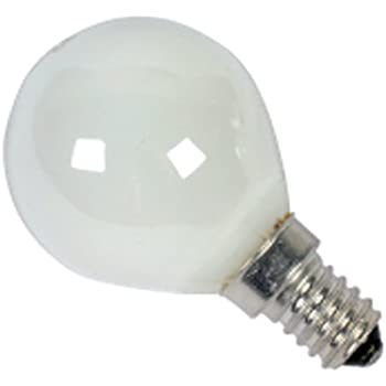 Eveready Incandescent Golf Ball Lamps, E14, 60 Watts, Pack of 6