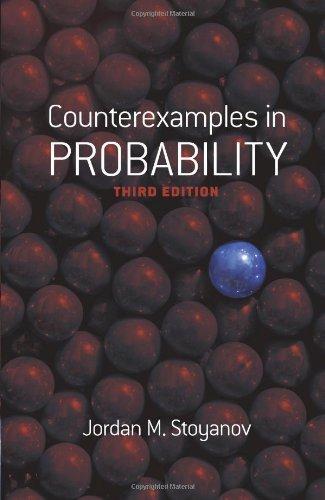 Counterexamples in Probability: Third Edition (Dover Books on Mathematics) by Jordan M. Stoyanov (2014-01-15) par Jordan M. Stoyanov