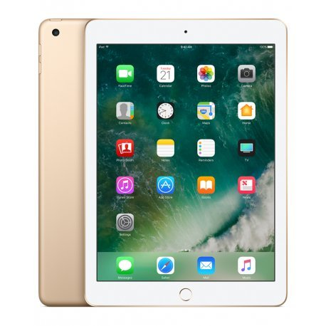 Apple iPad 128 GB Gold Tablet – Tableta DE 24,6 cm (9,7 Pulgadas), 2048 x 1536 píxeles, 128 GB, iOS 10, 469 g (Dorado)