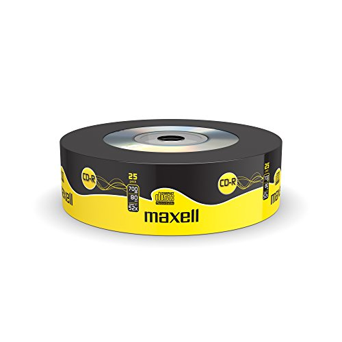 Maxell CD-R 52x Blank Discs 700MB Extra Protection