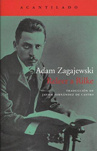 Portada del libro Releer a Rilke (Cuadernos)