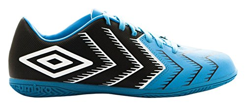 Umbro Umbro stadia 3Ic–Bota per uomo, colore: nero/bianco/azzurro Negro / Blanco / Bluebird