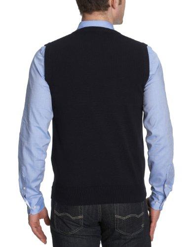 Gant - Pull sans manche - Uni - Sans manche - Homme bleu v129