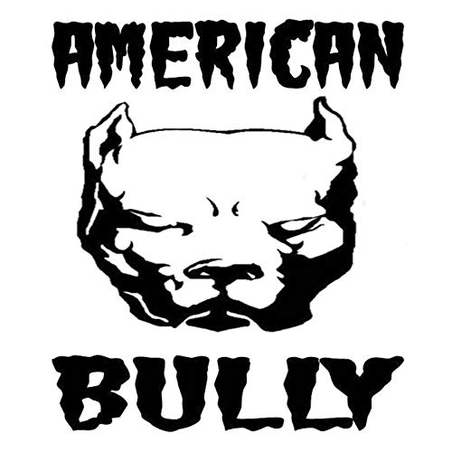 CTHK Pegatina de Coche 12.6cm * 14.7cm American Bully Dog Fashion Car Sticker Vinyl Decal