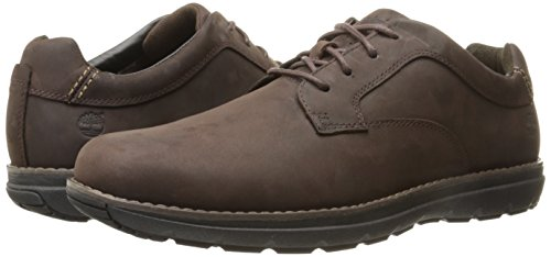 Timberland Men s Barrett Park Plain Toe Oxford   Dark Brown   10 UK 44 1 2 EU