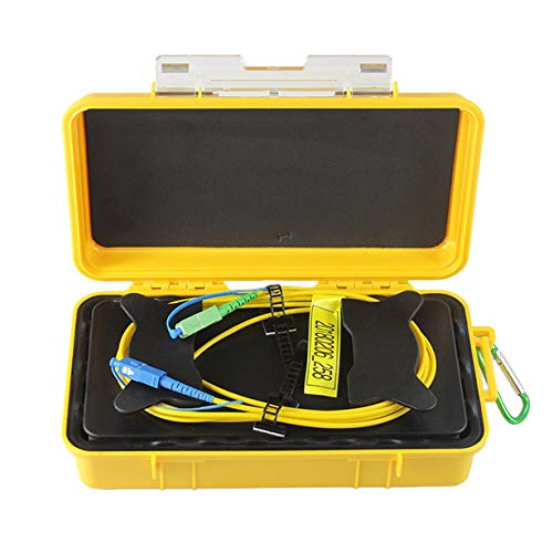 Comomingo SC-UPC/SC-APC Professioneller Singlemode 1 km OTDR-Kabel für den Kabeleinführungskanal -