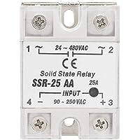 Relé, módulo de relé, relé compacto Relé de CA Módulo de relé de estado sólido Relé de estado sólido Relé 25A, para máquina controladora