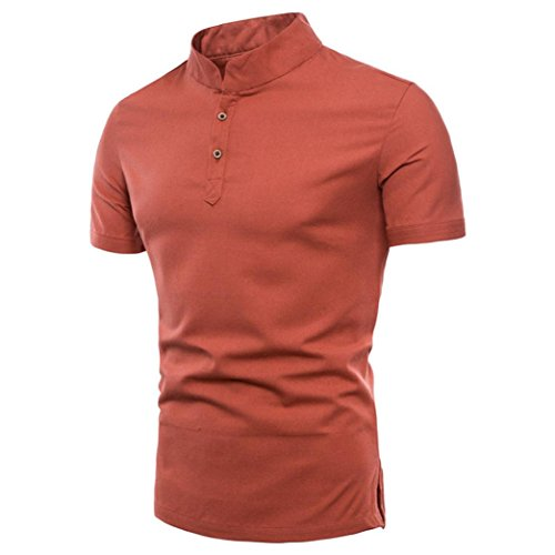 3ca56f0937 ... rayas camisetas largas hombre camisetas algodon ). Naturazy-Camiseta  Color Puro Camisas Talla Extra Polo Ropa para Verano Regalos para Marido  Camisas