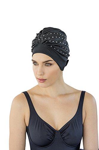 fashy badekappe fashy® - Exklusive Damen Badehaube mit verstellbarem Klettverschluss