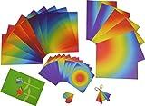 Wehrfritz 069256 Regenbogenpapier-Trio