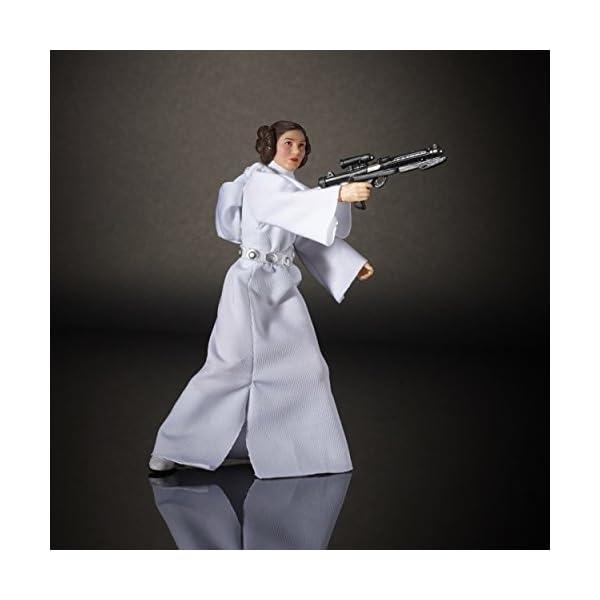 Star Wars Rogue One - Figura Princesa Leía Organa, 15 cm (Hasbro B9803ES0) 4