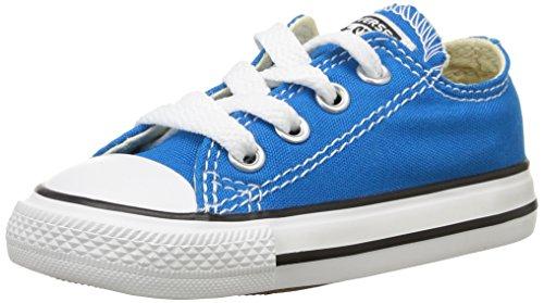 Converse Ctas Season Ox 015763-21, Unisex Baby Lauflernschuhe Blau (bleu Cyan)