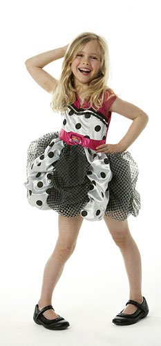 Rubies 3 883871 M - Hannah Montana Puff Ball Kleid Größe ()