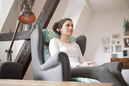 Doyourfitness Akupressur Set Inkl Massagematte 75x48cm Entspannungs Kopfkissen 30x30cm Entspannung Lockerung Von Verspannungen Ideal Als Meditationsmattenagelmatte Bikash