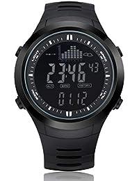 24b6ddc0114a KCAPAX Reloj de Pulsera Altímetro de Pesca Barómetro Termómetro Altitud  Hombres Relojes Digitales Reloj Deportivo Escalada