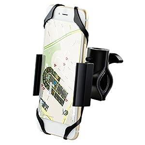 Ipow® Universal Fahrrad Handyhalterung mit Metall Sockel Handy Halterung...