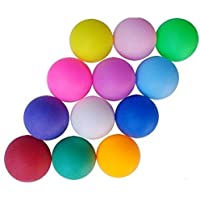 Pack of 10 Unbranded Color Mixing Table Tennis balls