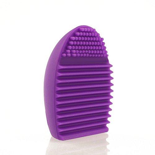 Outil de nettoyage Cosmétique Maquillage Brush-silicone Fond de teint Aspirateur Tool-gel Cleaner Scrubber Outil Couleur aléatoire