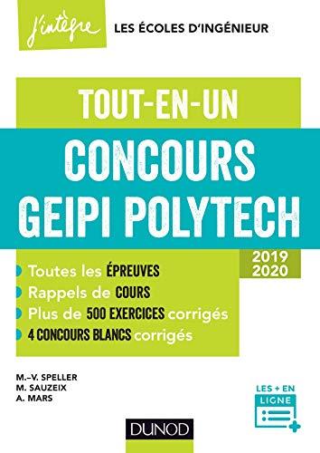 Concours Geipi Polytech - Tout-en-un 2019-2020 par Marie-Virginie Speller