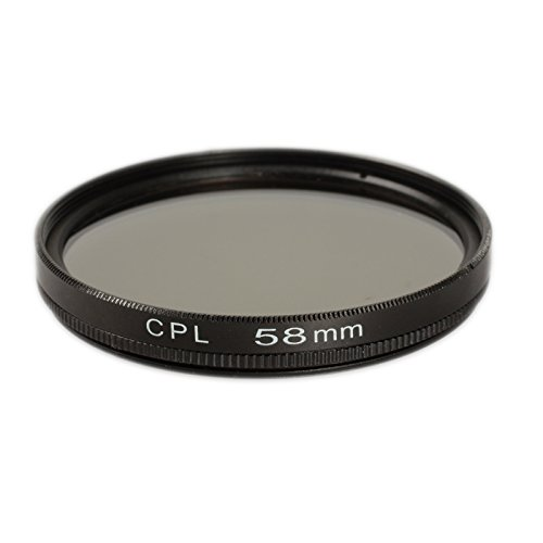 Ares Foto® Polfilter 58mm für Canon EF-S 18-55mm f/3.5-5.6 IS II