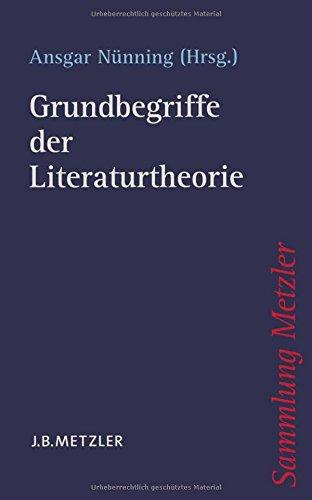 Grundbegriffe der Literaturtheorie.