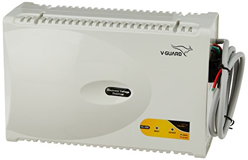 V Guard VG 400 for 1.5 Ton A.C  170V to 270V  Voltage Stabilizer  Grey  Voltage Stabilizers