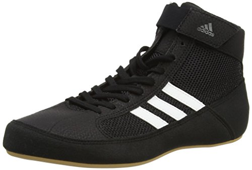 Adidas Unisex Adults AQ3325 Wrestling Shoes, Black (Black), 9 UK 43 1/3...