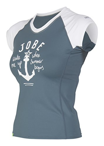 Jobe Damen Rash Guard V-Neck Chrome