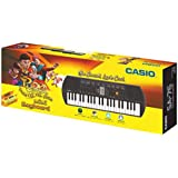 Casio SA76 Mini Portable Keyboard with Adaptor and Free Rudra Stationery Box