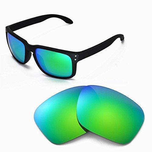 sunglasses restorer Basic Ersatzgläser Sapphire Green für Oakley Holbrook
