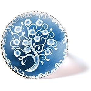 Ring mit Cabochon, Lebensbaum