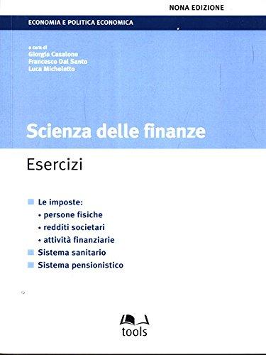 Scienza delle finanze. Esercizi