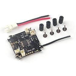 Gugutogo Controlador de Vuelo BEECORE Lite Brushed con protocolo Bayang para Tiny RC Drone Black