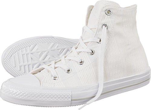 Converse 555842 Chuck All Star Damen Sneaker (White/Mouse/White) White/Mouse/White