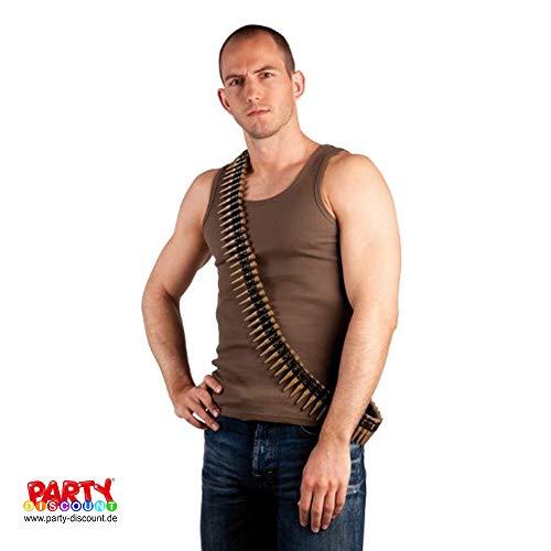 PARTY DISCOUNT ® Munitionsgürtel, 160 - Das Leere Kind Kostüm