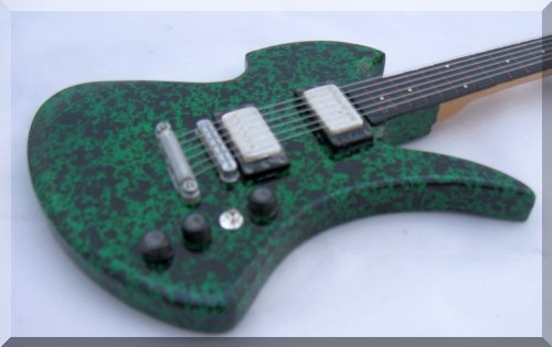 Slash BC Rich Mockingbird Guitarra en miniatura