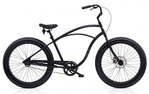 """Electra FAT Bike 1 Herren Fahrrad 26"""" Schwarz Beach Cruiser Rad Retro, 526693"""