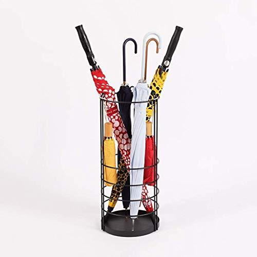 Klmnv;klbvb scarico a pavimento nordic umbrella ferro battuto stand creativo ombrelli personalizzati portaombrelli bagagli benna 25 * 60cm portaombrelli