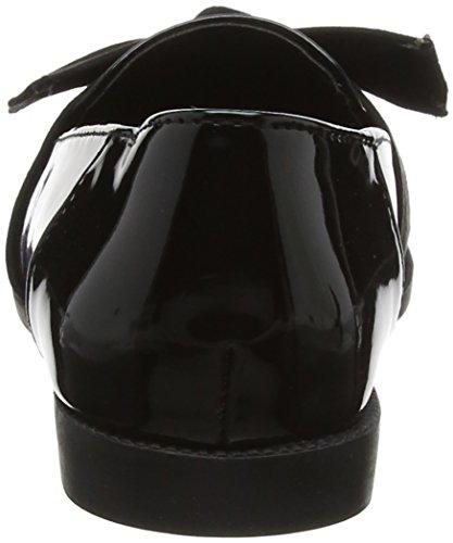 New Look Loot, Ballerine Punta Chiusa Donna Nero (Black 1)