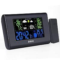 Caratteristiche Ampio display a colori Alimentato dalle batterie o cavo USB Previsioni meteo del tempo con icone animate Visualizzazione della pressione dell'aria Grafico a barre per la cronologia della pressione atmosferica Display della temperatura...