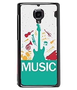 PrintVisa Designer Back Case Cover for Xiaomi Redmi 1S :: Xiaomi Hongmi 1S (Music Drums Dance Sound Volume Trump)