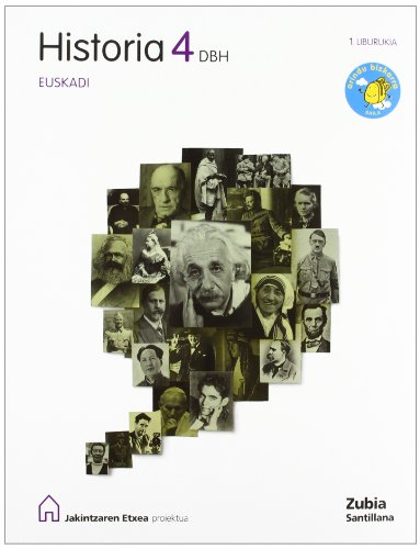 Historia 4Dbh Eusk - 9788498942866