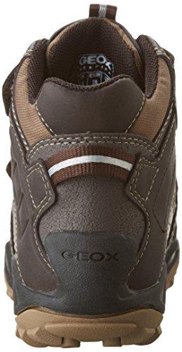Geox J New Savage Boy B Abx A, Chaussures avec Fermeture Velcro Garçon Braun (Coffee/BEIGEC0083)