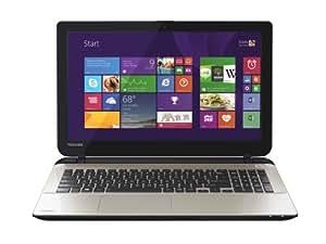 Toshiba Satellite L50-B-154 15.6-inch Notebook (Gloss Light Gold Finish) - (Intel Core i7-4500U 1.8GHz, 8GB RAM, 1TB HDD, Windows 8.1)