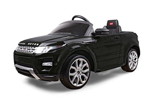 Mondial Toys AUTO ELETTRICA MACCHINA PER BAMBINI 12V CON TELECOMANDO RANGE ROVER EVOQUE NERO