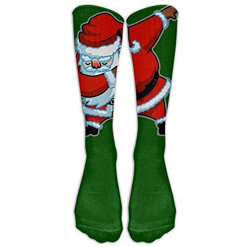 a Christmas Athletic Tube Stockings Women's Men's Classics Knee High Socks Sport Long Sock One Size ()