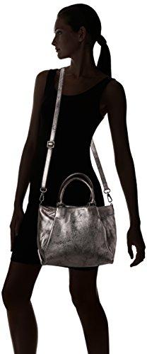 Sabrina Alienor, Sac porté épaule - Femme Gris (Graphite)